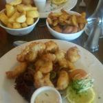 Fish & chips and Scampi