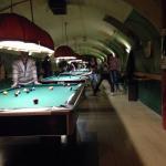 Amazing underground billiards bar!