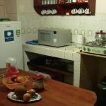 The kitchen comes free with standard appliances and free teas, sugar, salt, pepper and cooking o