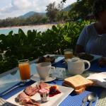 breakfast with view