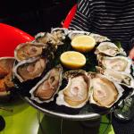 Oysters are really fresh
