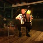 Raul performing his 'Tango Show'