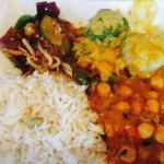 Dreierlei curryauswahl