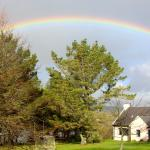 Rainbow over The Cottage