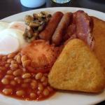 The cooked breakfast ( minus haggis & black pudding I didn't want otherwise it would have been b
