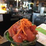 The spicy tuna
