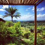 Seaviews from terrace in Bainema's Bungalow