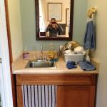 Bathroom/Kitchen sink in cottage