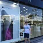 Na loja da Apple