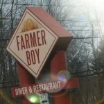 Farmer Boy Sign