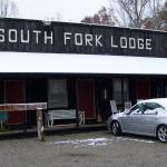 Motel rooms at Big South Fork Lodge in November