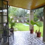 Veranda in front of room