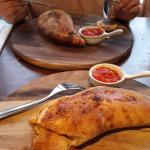 The Calzone at Zizi's
