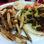 Falafel and Fries
