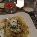 Dinner  (beriani)