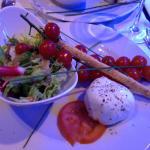 Tomates / mozzarella buffala