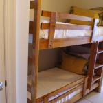 Both children (12 & 17) enjoyed the experience of sleeping on the bunk beds. After many hours in