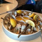 Steamed Clams at Steamers