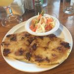 El Salvadoran Pupusas and Curtido