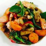 Spicy basil sauce