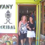 Nous sommes venues de loin (Gabon) pour visiter Fany - Tribal.Tres jolie boutique pleines de tre