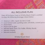 All inclusive plan