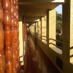 Pleasant and spotless balcony hall