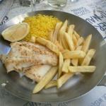 grilled kingklip n chips