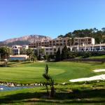 Blick vom Golfplatz