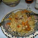 couscous merguez boulettes