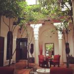 Riad Zolah courtyard
