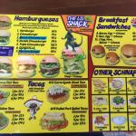Latest menu (2 of 2)