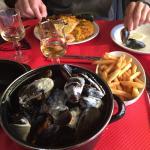 Moules e Paella