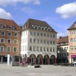 Market Square, Würzburg, Alemania.