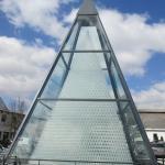 Kristallglaspyramide