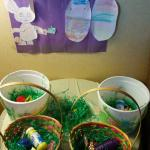 Easter baskets for the kiddies