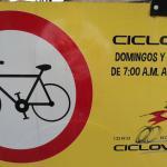 Roads close for Ciclovia