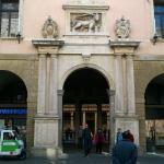 Padova, Università, ingresso al cortile d'onore