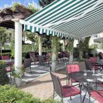 Pergola-Terrasse Restaurant La Villa im Hotel Villa Geyerswörth