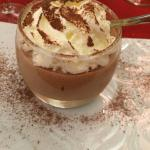 Mousse speculoos.