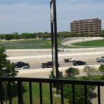 View from King bedroom (I-30)
