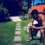 Wi-Fi pega na piscina! ;)