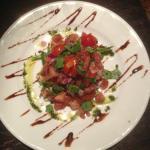 Tomato & Fresh Basil Bruschetta