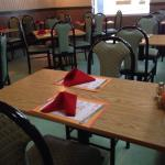 Eat in dining area.