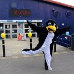 Percy the Penguin at Fun Day 2015!