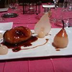 Foie gras chaud et poire