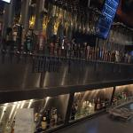 one side of tge bar at The Yard House