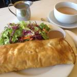 Make your own crêpe:-) very huge and delicious.