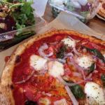 Red Vine pizza