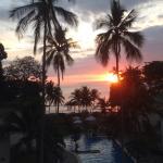 Maravillosa puesta de Sol desde la Habitación Deluxe